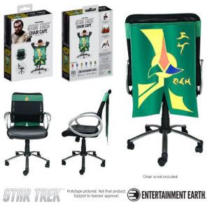 Star Trek The Original Series Klingon Insignia Chair Cape