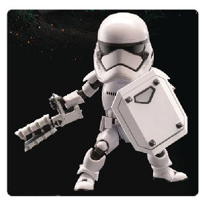 Star Wars The Force Awakens Riot Control Stormtrooper Egg Attack Action Figure - Previews Exclusive
