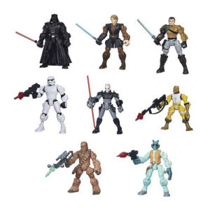 Star Wars Hero Mashers Action Figures Wave 3 Case