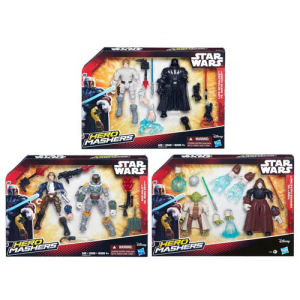 Star Wars Hero Mashers Battle Pack Action Figures Wave 1 Revision 1 Case