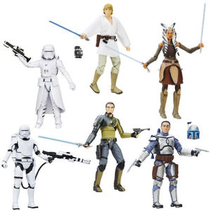 Star Wars The Force Awakens The Black Series 6 Inch Action Figures Wave 6 Revision 1 Case