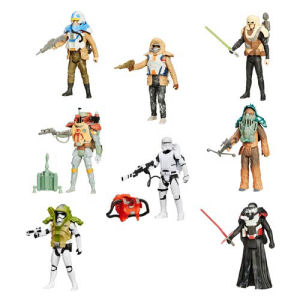 Star Wars The Force Awakens Armor Series Action Figures Wave 1 Case