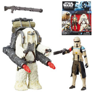 Star Wars Rogue One Scarif Stormtrooper and Moroff Action Figure Set