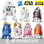 Star Wars The Black Series Astromech Droids 3.75 Inch Action Figures. Droids come in a R2-D2 shaped box. Droids include - R7-F5 - QT-KT - R7-D4 - R2-C2 - R2-A5 and Jabbas bartender.