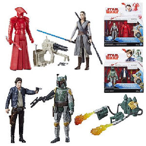 Star Wars The Last Jedi 3.75 Inch Action Figure 2-Packs Wave 1 Case