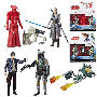 Star Wars The Last Jedi 3.75 Inch Action Figure 2-Packs Wave 1 Case. Case contains 8 individually packaged action figure 2-packs - 4 Han Solo with Boba Fett 4 - Rey (Jedi Training) with Rey (Entrainement Jedi)
