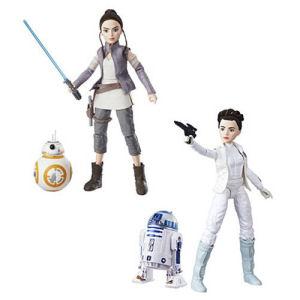 Star Wars Forces of Destiny Adventure Figure Friends Wave 1 Case
