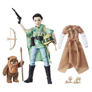 Star Wars Forces of Destiny Endor Adventure Princess Leia Organa Adventure Figure