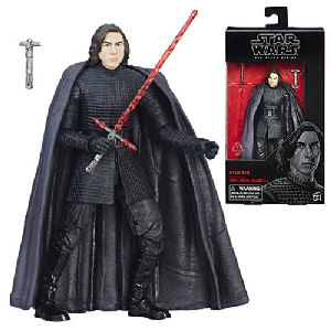 Star Wars The Black Series Kylo Ren The Last Jedi 6 Inch Action Figure