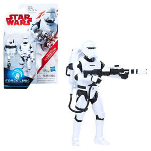 Star Wars The Last Jedi First Order Flame Trooper (Firing Pose) 3.75 Inch Action Figure - Exclusive