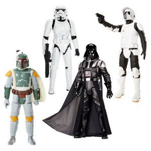 Star Wars 20 Inch Big Fig Action Figure Wave 6 Case
