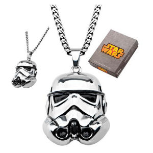 Star Wars 3D Stormtrooper Pendant Necklace