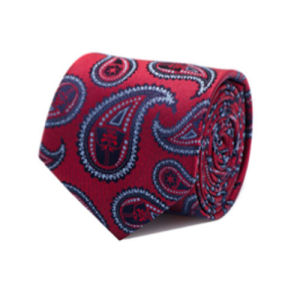 Star Wars Darth Vader Red Paisley Italian Silk Tie