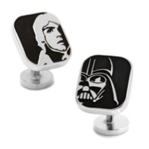 Star Wars Luke Skywalker and Darth Vader Cufflinks