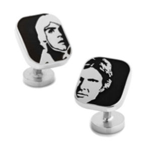 Star Wars Luke Skywalker and Han Solo Cufflinks