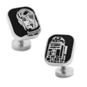 Star Wars R2-D2 and C-3PO Cufflinks