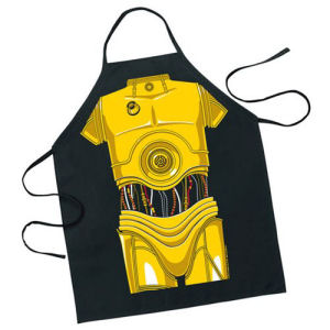 Star Wars C-3P0 Be the Character Apron