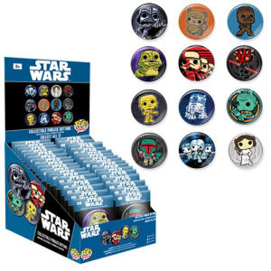 Star Wars Pop! Button Master Case