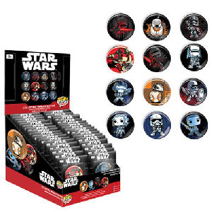 Star Wars The Force Awakens Pop! Button Display Case