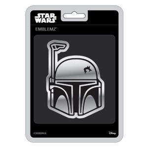 Star Wars Boba Fett Chrome Injection-Molded Emblem