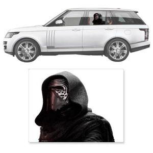 Star Wars The Force Awakens Kylo Ren Window Wrap Passenger Series Car Decal