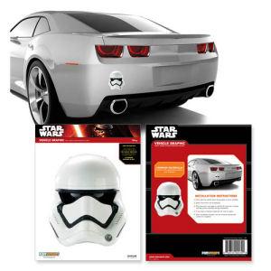 Star Wars Episode VII - The Force Awakens First Order Stormtrooper Helmet Car Decal