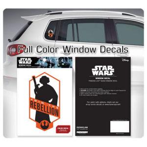 Star Wars Princess Leia Join the Rebellion Window Decal