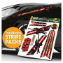 Star Wars Darth Maul Stripe Pack FanWraps Car Decals.
