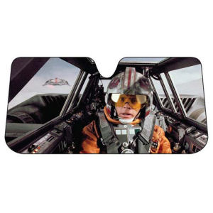 Star Wars Snowspeeder Accordion Sunshade