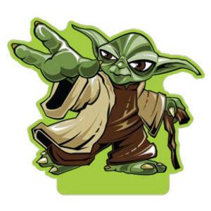 Star Wars Yoda Shorty Paper Air Freshener