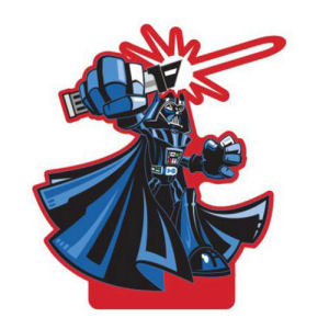 Star Wars Darth Vader Shorty Paper Air Freshener