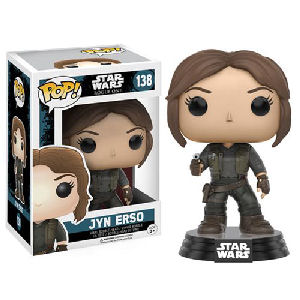 Star Wars Rogue One Jyn Erso Pop! Vinyl Bobble Head