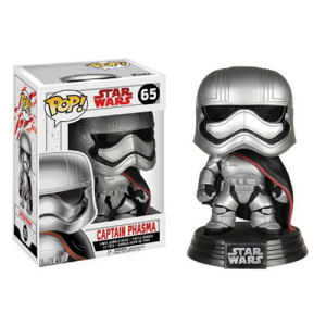 Star Wars The Last Jedi Captain Phasma Pop! Vinyl Bobble Head #65