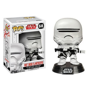 Star Wars The Last Jedi First Order Flametrooper Pop! Vinyl Bobble Head #68