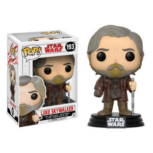 Star Wars The Last Jedi Luke Skywalker Pop! Vinyl Bobble Head #193