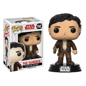 Star Wars The Last Jedi Poe Dameron Pop! Vinyl Bobble Head #192