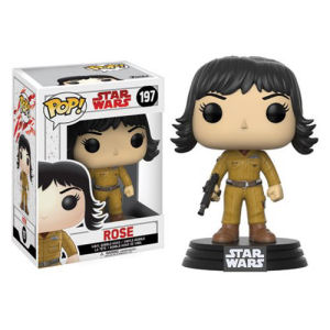 Star Wars The Last Jedi Rose Pop! Vinyl Bobble Head #197