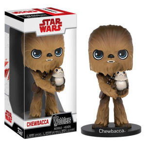 Star Wars The Last Jedi Chewbacca Wobbler Bobble Head
