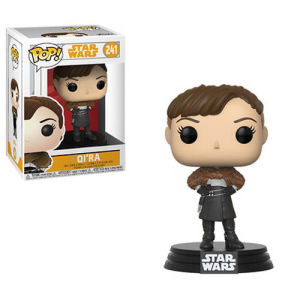 Star Wars Solo Qi ra Pop! Vinyl Bobble Head