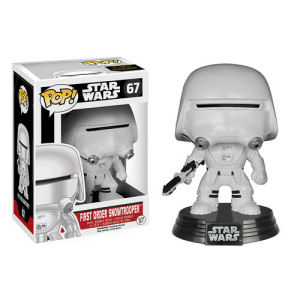 Star Wars Episode VII - The Force Awakens First Order Snowtrooper Pop! Vinyl Bobble Head