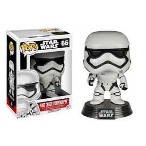 Star Wars Episode VII - The Force Awakens First Order Stormtrooper Pop! Vinyl Bobble Head