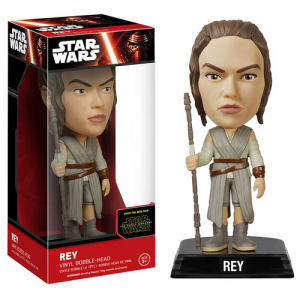 Star Wars Episode VII - The Force Awakens Rey Bobble Head