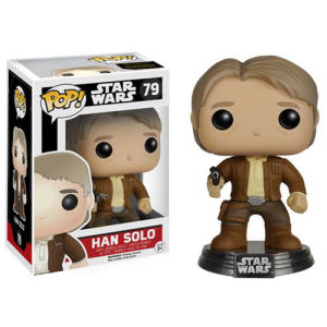 Star Wars The Force Awakens Han Solo Pop! Vinyl Bobble Head