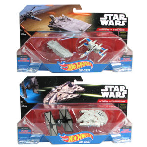 Star Wars Hot Wheels Starship 2-Pack Wave 2 Case
