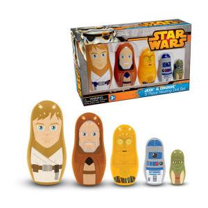 Star Wars Jedi and Droids Nesting Dolls
