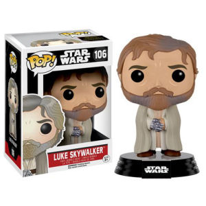 Star Wars The Force Awakens Bearded Luke Skywalker Pop! Vinyl Figure