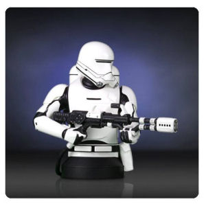Star Wars The Force Awakens The First Order Flametrooper Mini-Bust