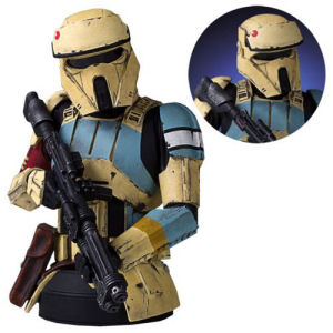 Star Wars Rogue One Scarif Shoretrooper Yellow Mini Bust