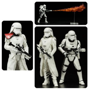 Star Wars The Force Awakens First Order Snowtrooper and Flametrooper ArtFX+ Statue 2-Pack