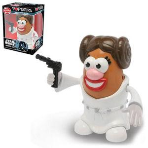 Star Wars Princess Leia Poptaters Mr. Potato Head